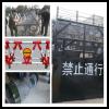 金乡1米直径滚筒式反恐防暴隔离墙路障